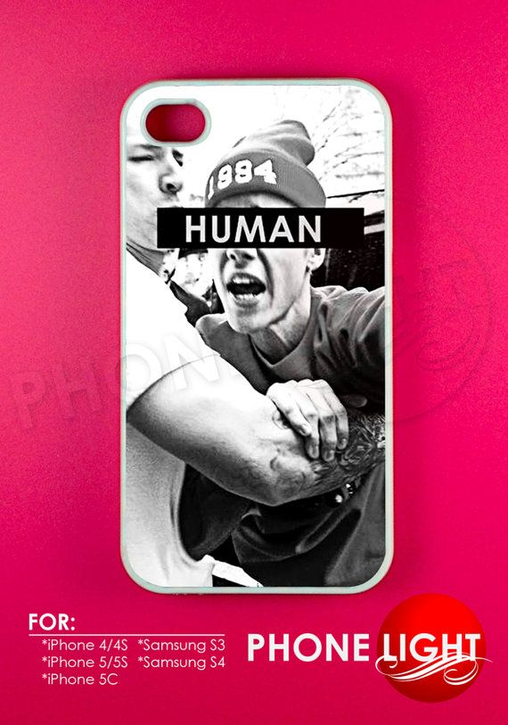 Justin Bieber Human Phone Case  Rubber and Plastic by PHONELIGHT, $13.99