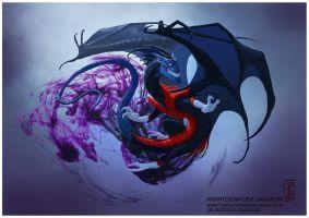 Nightcrawler Dragon by LyntonLevengood