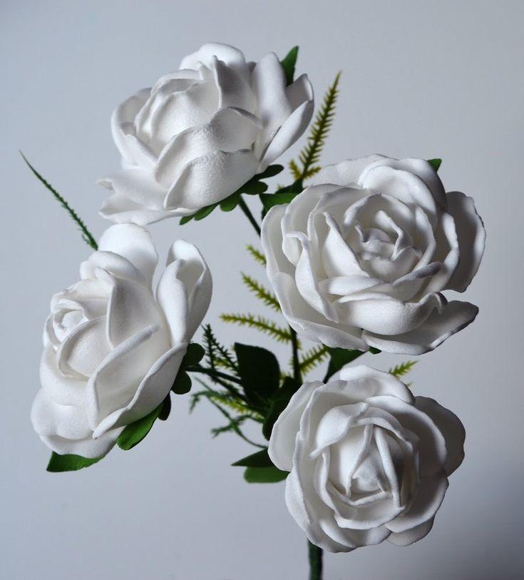 Jak zrobić różę z pianki foamiran? Róża z foamiranu - video tutorial - O...