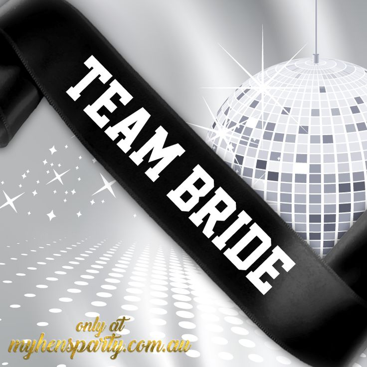 Team Bride PrintedSash Our stylishTeam Bride Printed Sashis the latest trend in wedding must haves! Made in-house at the My Hens Party Shop in Sydney we offer you the choice of Sa...