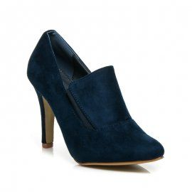 Elegantné členkové topánky H001-32BL