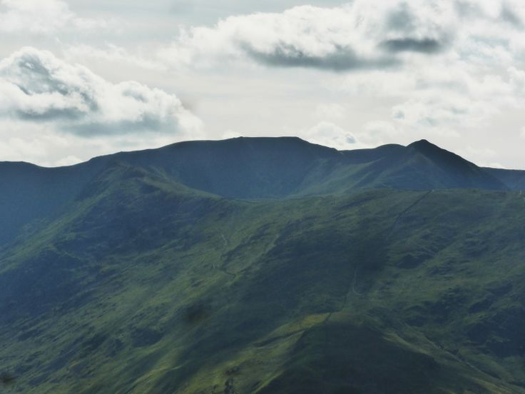Helvellyn from the summit of Place Fell June 2014