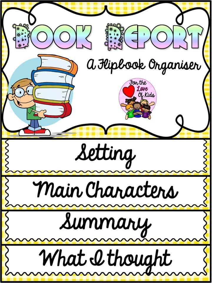 Book report prompts