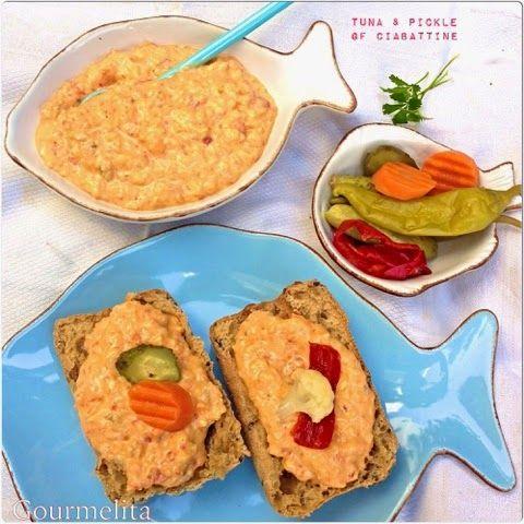 Gluten Free Ciabattine με Τόνο και Πίκλες #schaer #gluten free