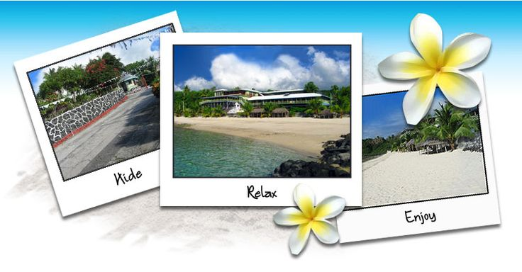 Hide, Relax & Enjoy at Vaisala Beach Hotel #samoa