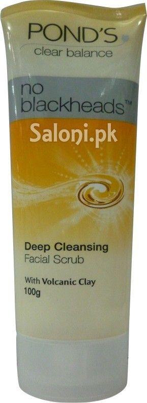 POND'S NO BLACKHEADS DEEP CLEANSING FACIAL SCRUB 100 GRAMS Saloni™ Health