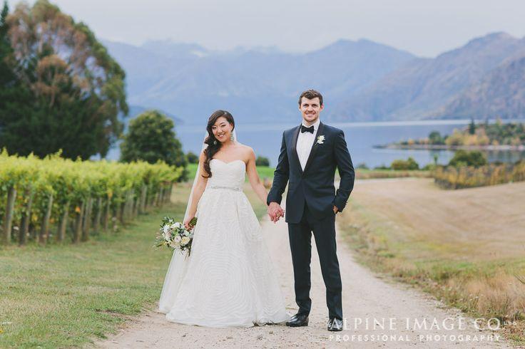 Newlyweds at Rippon.