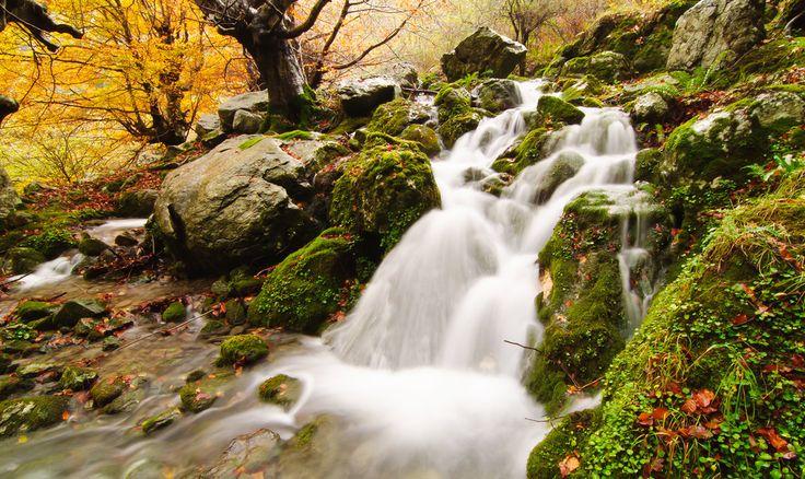 Waterfall of Collados del Ason