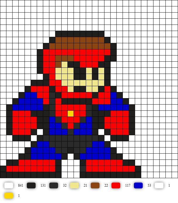 collossal boy from legion of superheroes DC Perler Bead Pattern