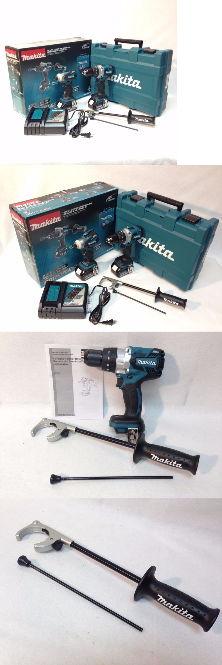 Combination Sets 177000: Makita Xt252tb Lxt 18V 5.0 Ah Li-Ion Brushless Hammer Drill And Impact Driver Kit -> BUY IT NOW ONLY: $358.97 on eBay!
