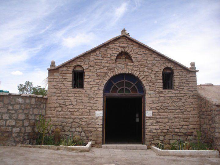 Iglesia de Toconao, una de las iglesias más antiguas de Chile.