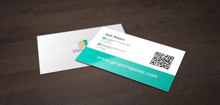 Tarjeta de Presentación - Cliente: Grupo Ropasa
