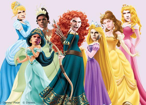 Teen Wolf Boys as Disney Princesses