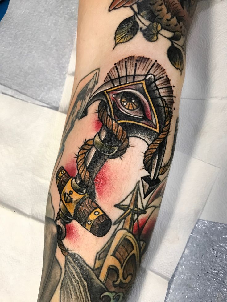 #앵커♐️#anchor -빈공간채우기!! tattoo 문의&상담:카톡ID: qpqpgi Tattoo machines by @cstattoomachine #앵카타투#앵커타투#타투이스트크리스탈#이바사타투#anchortattoo#allseeingeyetattoo#tattoovim#cstattoomachine