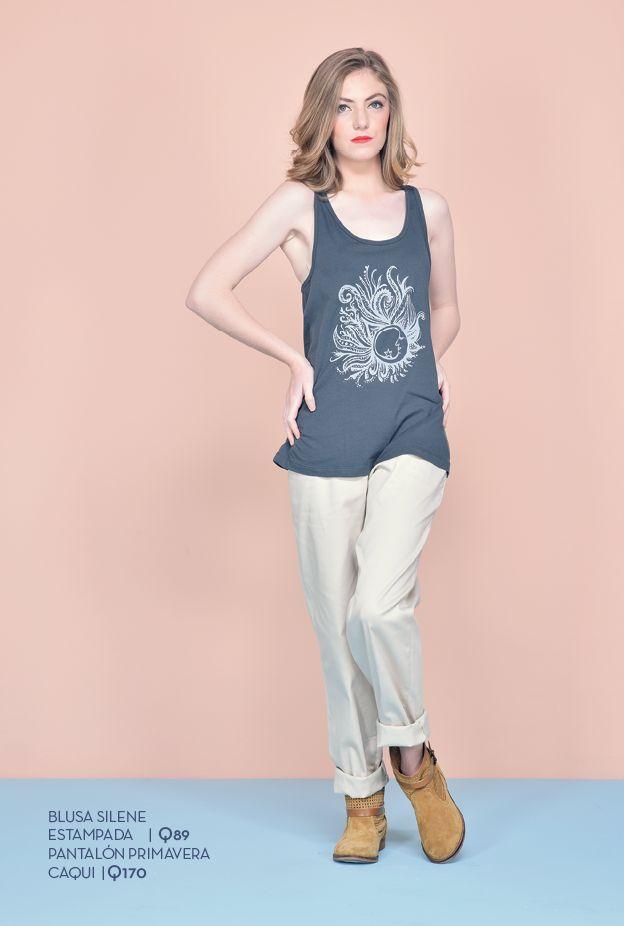 Disponible en colores blanco, gris y amarillo. Tallas: xs - s - m - l - xl Precio: Q89  Pantalón Primavera Talla: 8 Precio: Q170