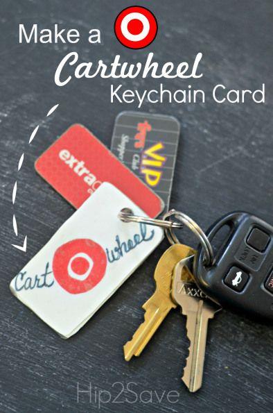 How to Make a Target Cartwheel Keychain Card – Hip2Save
