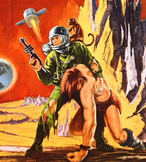 7/31/14  4:25p ''Robinson Crusoe on Mars''     Adventure on Mars  with Mona, the Monkey and Friday  1964
