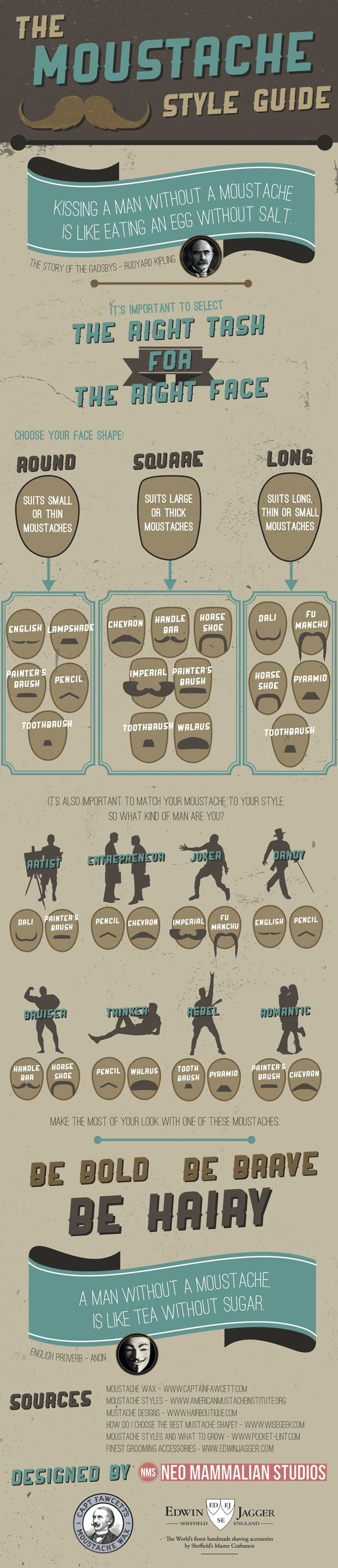 The Moustache Style Guide