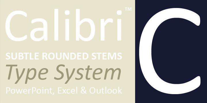 Calibri® - Webfont & Desktop font « MyFonts