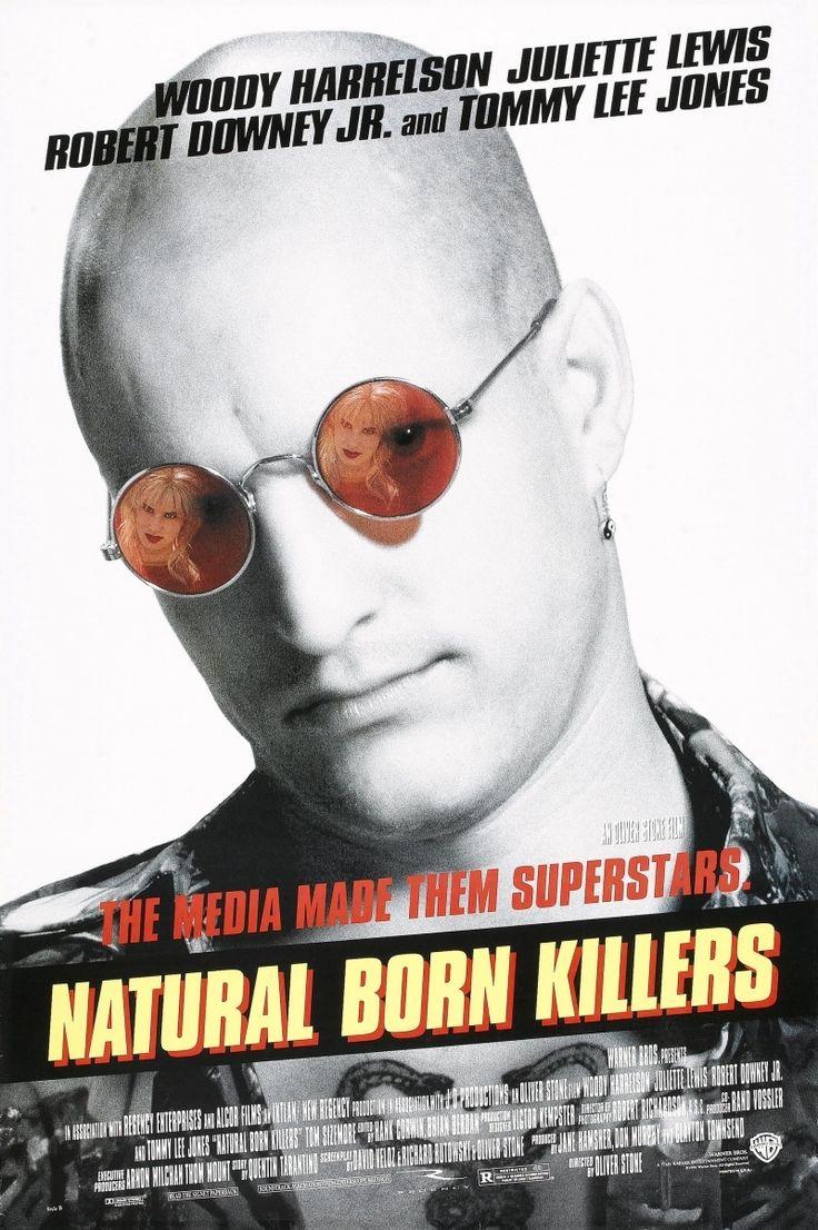 Постер к фильму «Natural Born Killers / Прирожденные убийцы (1994)» смотреть онлайн
