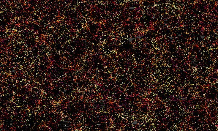 Largest ever map of the universe points to mysterious 'dark energy' | Science | The Guardian