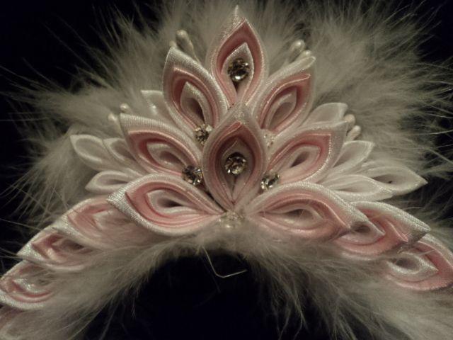 kanzashi tiara