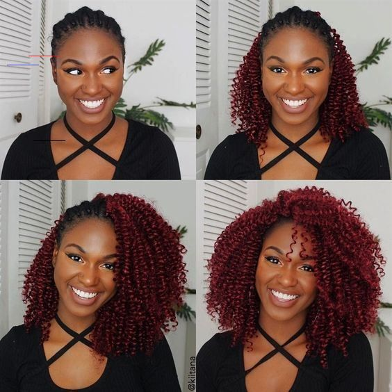 10 Natural Hair Winter Protective Hairstyles For Without Extensions - #crotchetbraids - The ...