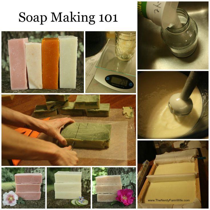 Soap Making 101 - Cold Process Soap #diy #crafts