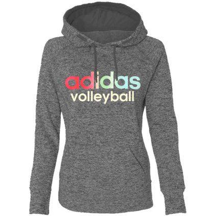 Adidas Women's Ultimate Fleece Hoodie - Grey