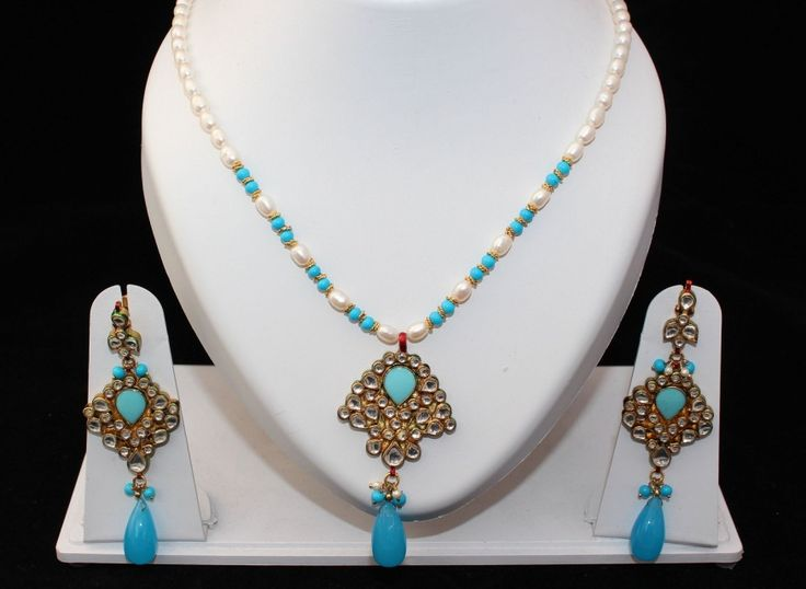 Real Kundan and Pearls! Comes with matching EarringsReady to ship WORLDWIDE!