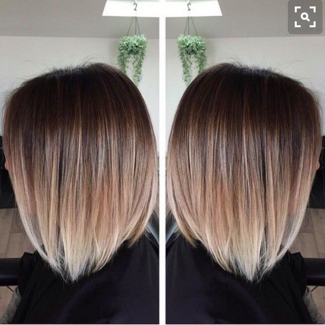 just the tips with bleach blonde