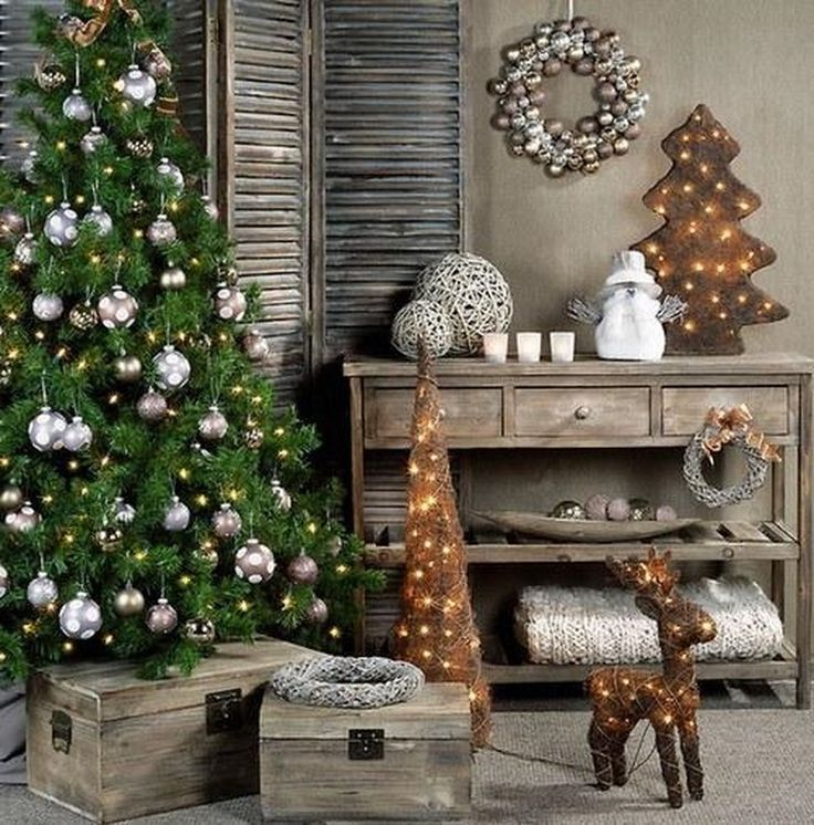 Лучшие идеи новогоднего декора дома 2021: модный декор ...