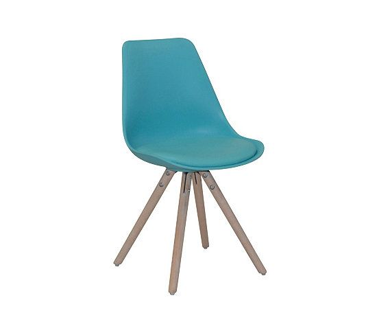 Les 25 meilleures id es concernant chaise turquoise sur for Chaise oslo but
