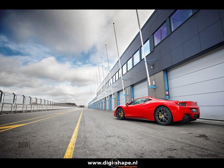 Kroymans Ferrari 458 Italia @ TT Circuit Assen.