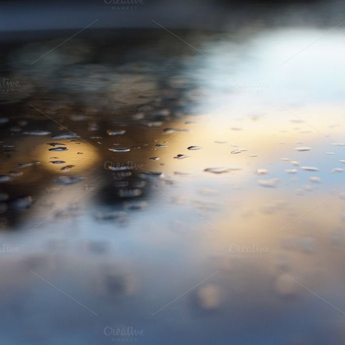 water drops by ateliervonau on Creative Market