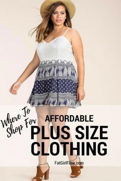 Cheap Plus Size Clothing Stores - FatGirlFlow.com