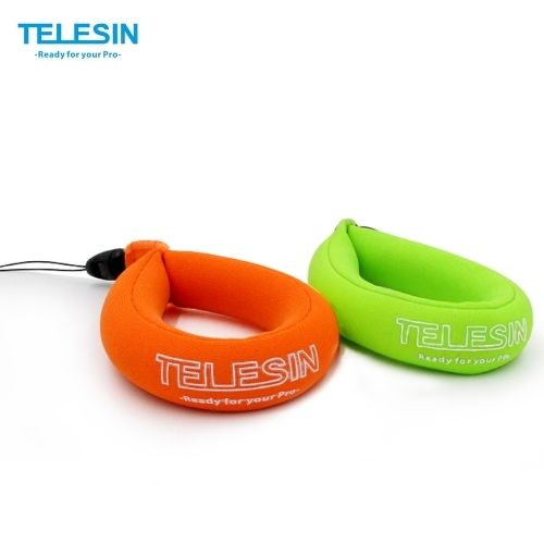 (5.66$)  Know more  - TELESIN Waterproof Camera Float Floating Straps Hand Straps (2pcs in 1 bag) for GoPro/Panasonic Lumix/Nikon COOLPIX AW110/Canon PowerShot D20/Fujifilm FinePix/Olympus Tough/Sony-Protect Your Device from Sinking