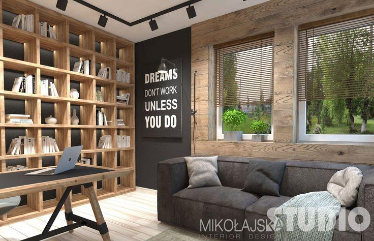 biuro na wsi - zdjęcie od MIKOŁAJSKAstudio - Biuro - Styl Eklektyczny - MIKOŁAJSKAstudio
