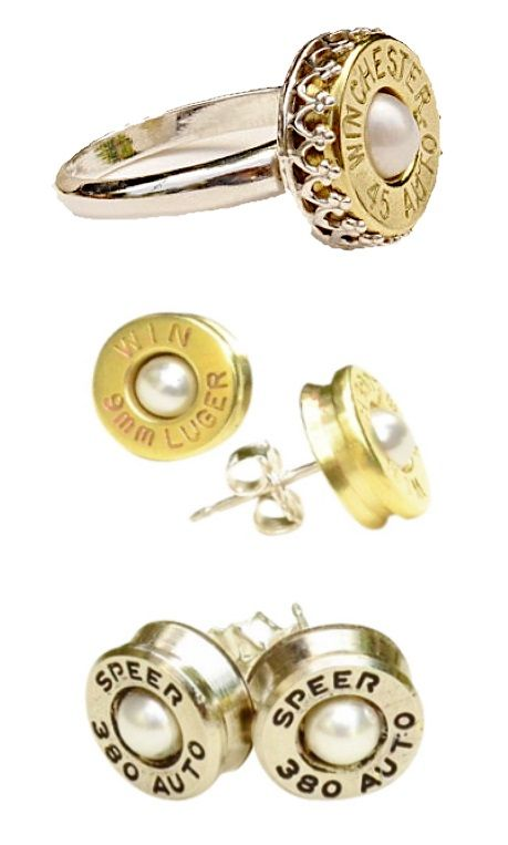 Bullet Casing Jewelry, Free Shipping!