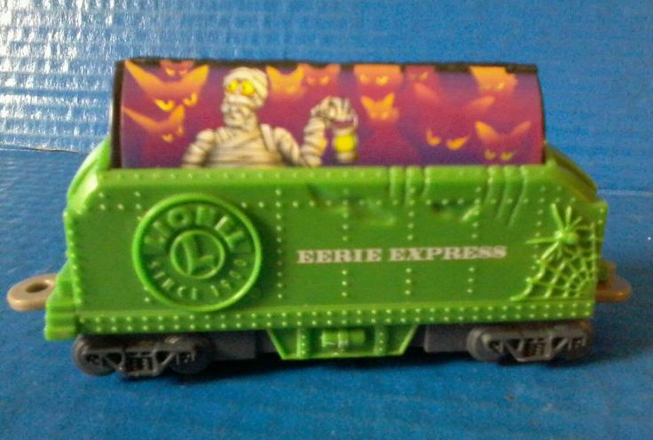 LOOSE Wendy's Kids Meal The Eerie Express Lionel Green Coal Train Railroad Car  #Lionel