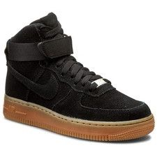 Pantofi NIKE - Air Force 1 Hi Suede 749266 001 Black/Black