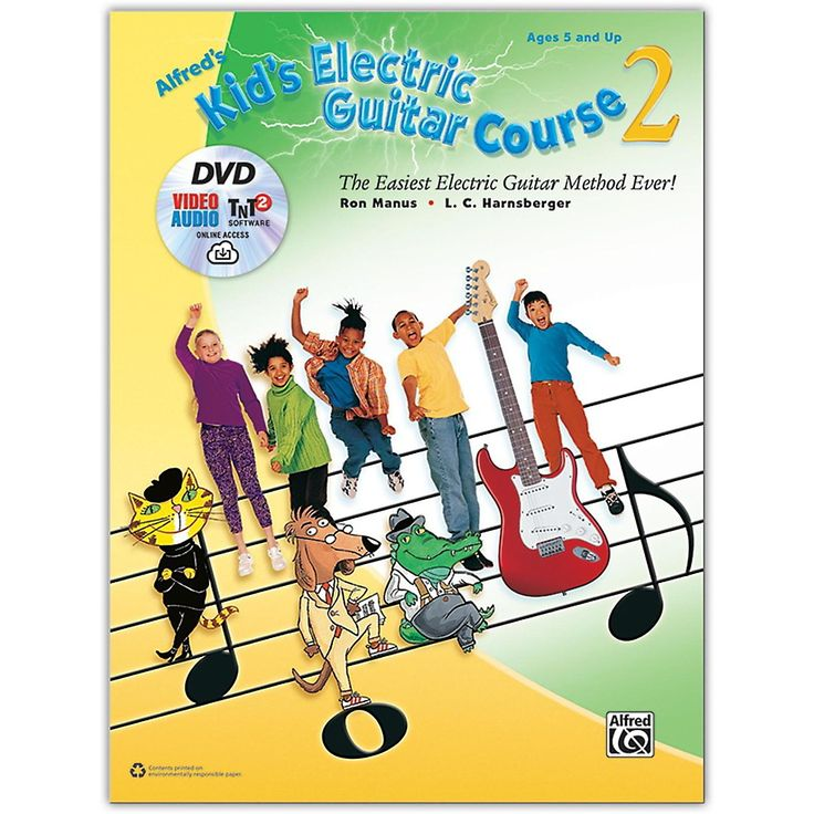 Alfred Alfred's Kid's Electric Guitar Course 2 - Book, DVD & Online Au