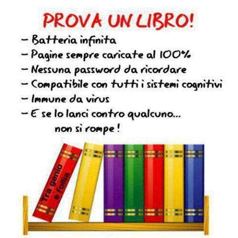 Prova un libro!