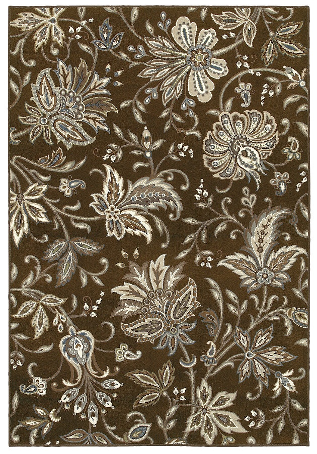 Area Rug By Shaw Floors In Style Jillian 39 S Garden Color Brown Crayola Colors Brown