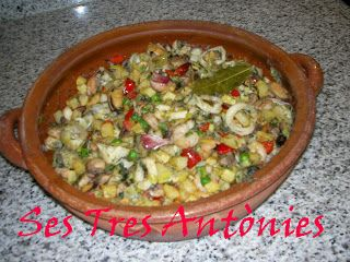 """Les receptes de cuina de """"Ses Tres Antònies"""": FRIT MARINER (de MARISC i/o PEIX)"""
