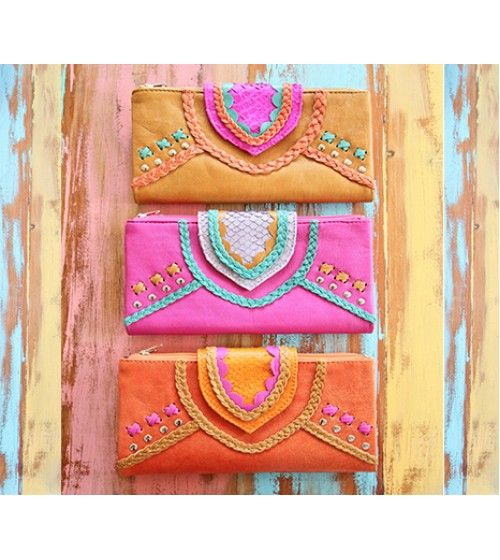 Mahiya Azire Wallet - Pink. Online now at www.envygifts.com.au