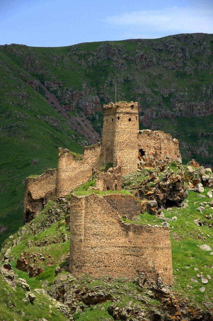 Şeytan kalesi (Satan castle) Ardahan - TURKEY.