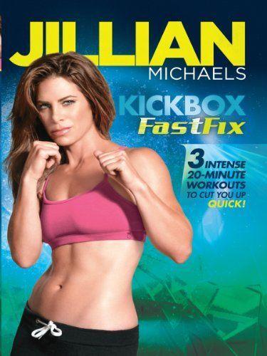 best workout DVDs, Jillian Michaels Kickboxing Fast Fix by Healthista.com