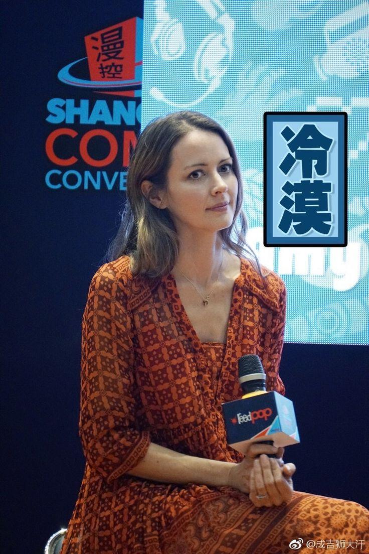 "amyacker-root: ""Shanghai Comic Con cr 成吉狮大汗 (weibo) """