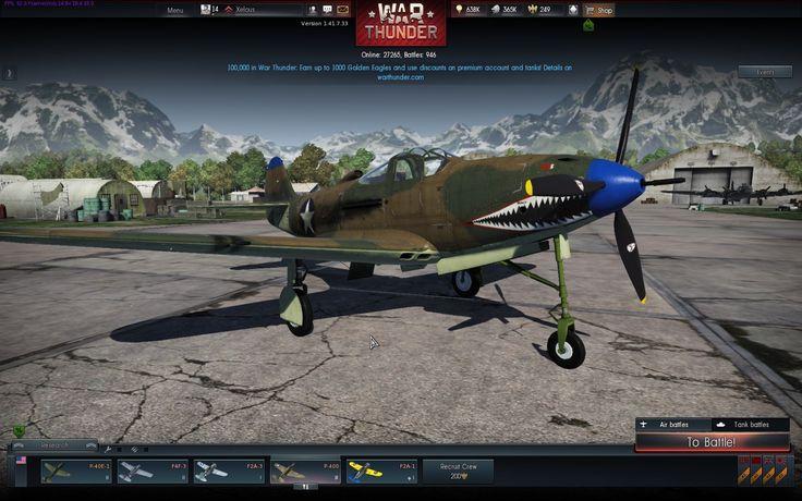 Aircobra in game